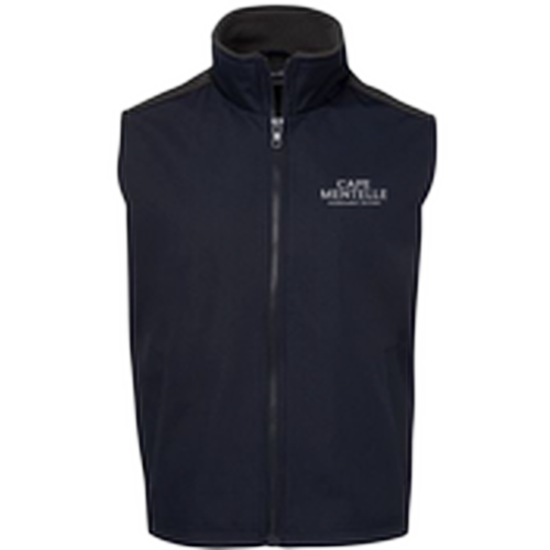 Cape Mentelle branded vest Men Navy Blue